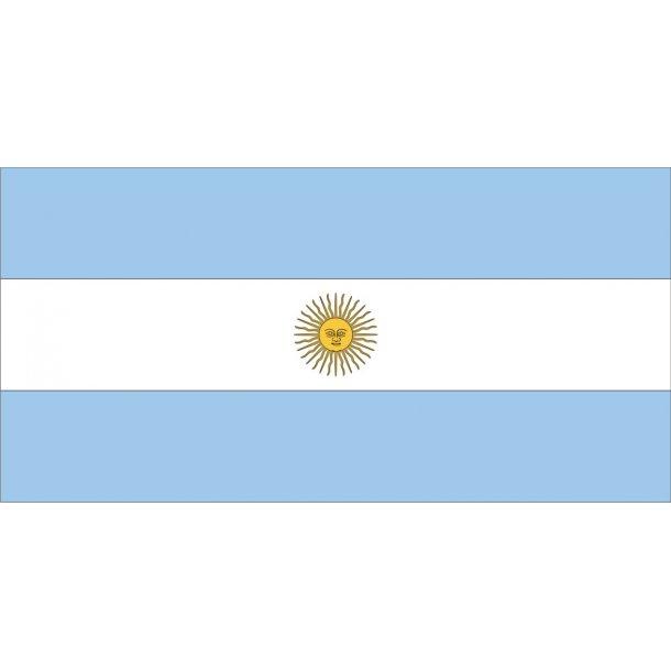 ARGENTINA M. SOL, TRYKT,150x90 CM